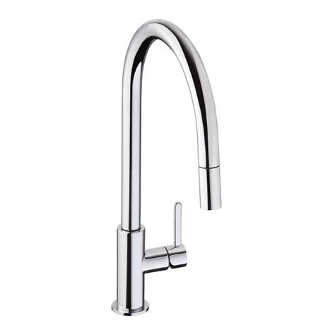 pull out kitchen sink taps abode althia pull out spray kitchen tap sinks taps 7606
