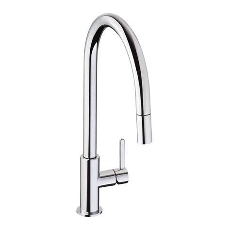 spray taps kitchen sinks abode althia pull out spray kitchen tap sinks taps 5661