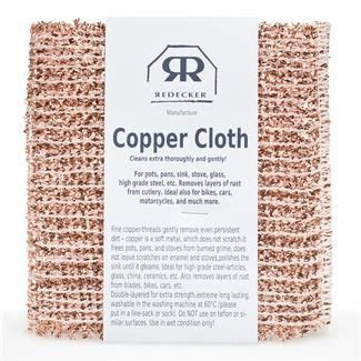 redecker copper cloth  pack   clean copper cleaning copper