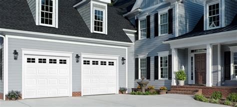 White Garage Doors by Choosing The Best Garage Door Paint Color For Your Home
