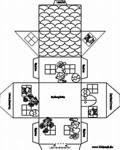 Haus Basteln Pappe Vorlage : osterh uschen basteln im ~ Eleganceandgraceweddings.com Haus und Dekorationen