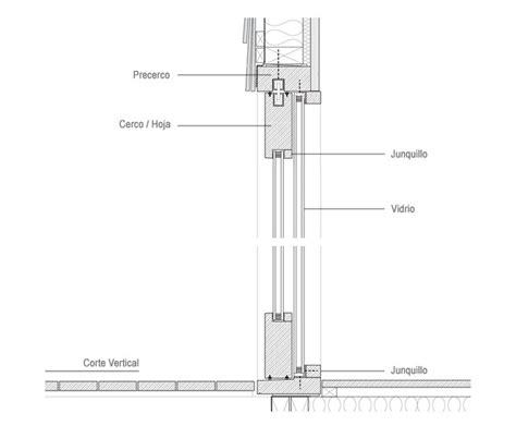 materiales ventanas componentes  detalles archdaily