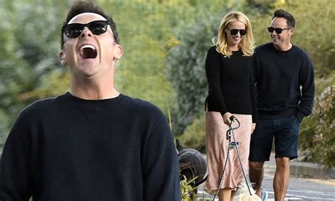 Ant McPartlin looks in high spirits on cosy stroll with ...
