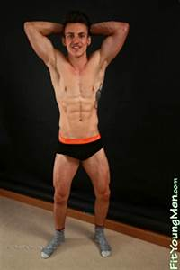Fit Young Men  Model Travis Banfield - Sailor
