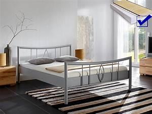 Bett Inklusive Lattenrost : metallbett komplett bett lucie lattenrost matratze varianten schafzimmer ebay ~ Markanthonyermac.com Haus und Dekorationen
