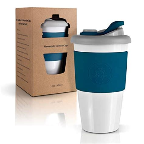 Coffee mugs with lids are the best way to enjoy your favorite hot beverage.#coffeecupswithlids. Mr.Cuppie Reusable Coffee Cup with Lid, Lightweight Portable Travel mug with Silicone Sleeve ...