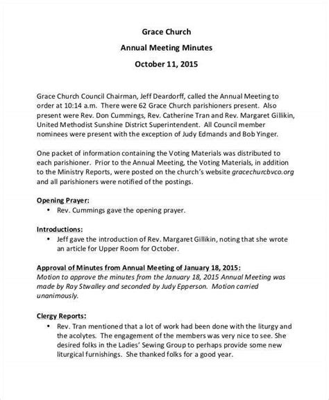 church meeting minutes templates word apple pages
