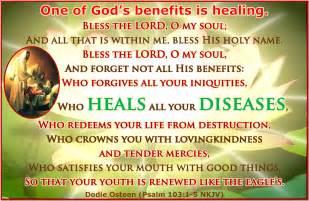 Healing Prayer Scriptures Quotes