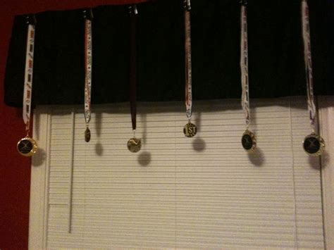 craft idea for hanging medals you can get pretty as well