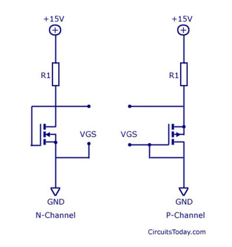 how to test fet s jfet and mosfet circuit wiring diagrams