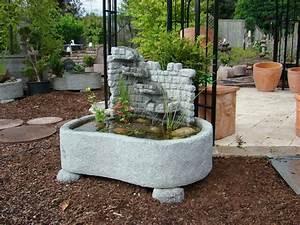 Springbrunnen Für Teich : miniteich mit wasserwand springbrunnen brunnen granitwerkstein stein 169kg ebay ~ Eleganceandgraceweddings.com Haus und Dekorationen