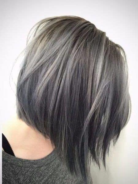 mittellange ombre frisuren  reife mode haarfarben
