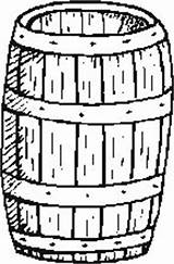 Barrel Coloring Pages Template sketch template