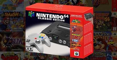 Nintendo 64 Mini Games Microsoft Announcement N64