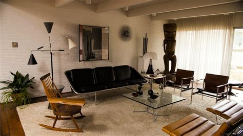 Living Room Bar Aloha by Tiki Collectors Escape Winter In Their Basement Paradise