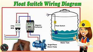 Float Switch Wiring Diagram For Water Pump   How To Make