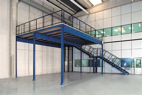mezzanines mezzanine floors interlake mecalux