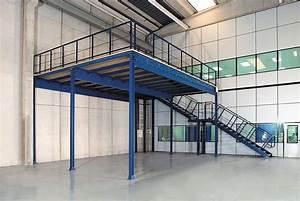 Mezzanine Metallique En Kit : mezzanines mezzanine floors interlake mecalux ~ Premium-room.com Idées de Décoration