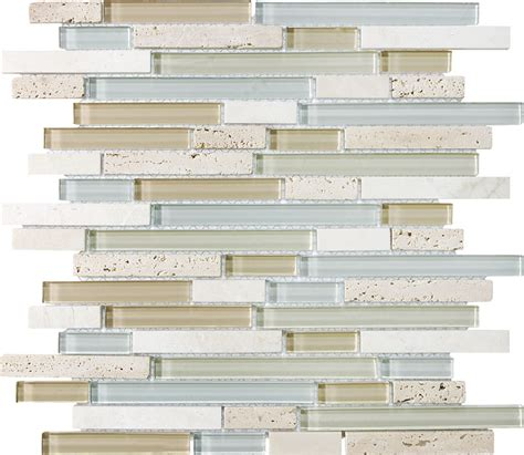 bliss linear mosaic specialty tile products anatolia bliss mixed mosaic wall tile