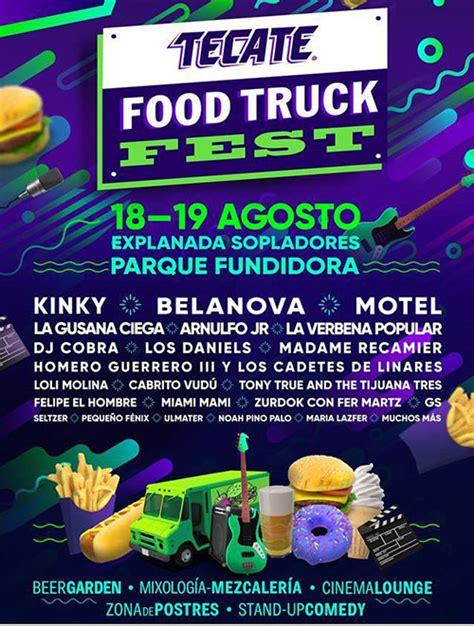 Tecate Food Truck Fest 2018  ¿dónde Hay Feria?