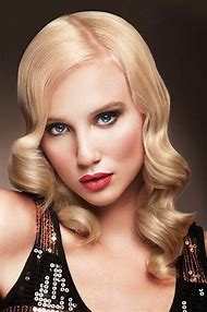 Finger Wave Hairstyle Long Hair