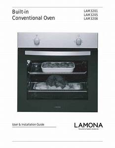Lamona Black Single Conventional Oven