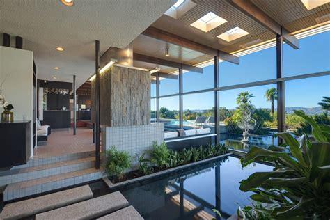 chambre a coucher design maison d architecte emblématique en californie en vente