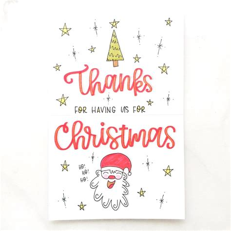 thank you for hosting card template what to write in your thank you cards punkpost