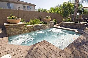 33 jacuzzi pools for your home With in ground swimming pool designs