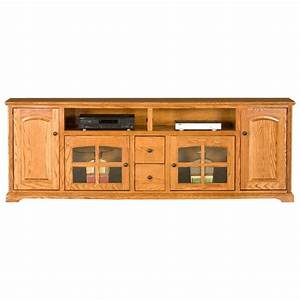 oak ridge thin 90quot tv console dvd drawers dcg stores With oak home theater furniture
