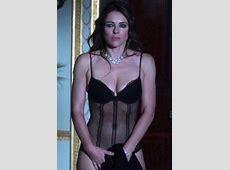 Liz Hurley portrays swearing, stripping queen in The