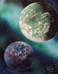 1000+ images about Space art on Pinterest | Spray paint ...