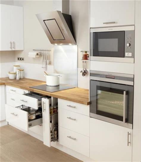 meuble de cuisine ikea blanc una cocina luminosa y actual los muebles blancos