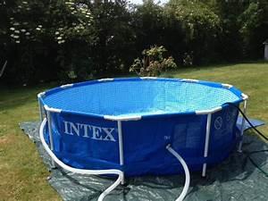 Preparation Terrain Pour Piscine Hors Sol Tubulaire : la mal diction de la piscine auto port e ~ Melissatoandfro.com Idées de Décoration