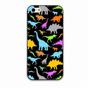 Colorful Cute Little Dinosaur And baby Elephant Hard Cover ...