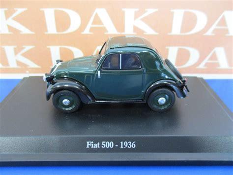 Die Cast 143 Modellino Auto Fiat 500 A 1936 Topolino
