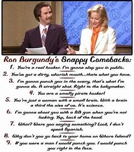 17 Best images ... Anchorman Hungover Quotes