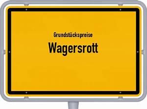 Grundstückswert Berechnen : grundst ckspreise wagersrott 2018 kostenlos ~ Themetempest.com Abrechnung