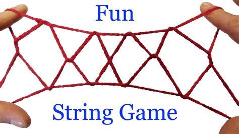 string tricks     jacobs ladder string figure