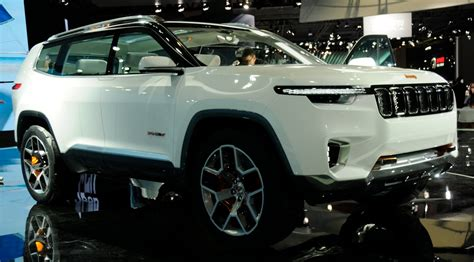new jeep truck concept news jeep yuntu concept previews new 7 seater