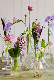 Spring Flowers Table Decorations