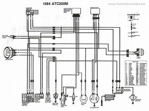 Wiring Diagram 1985 Honda 200m
