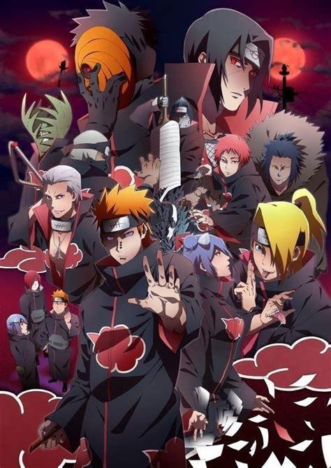 Akatsuki Anime Akatsuki Akatsuki Naruto Minato
