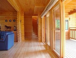 10 images about ikihirsi maisons en bois on pinterest for Maison en bois interieur