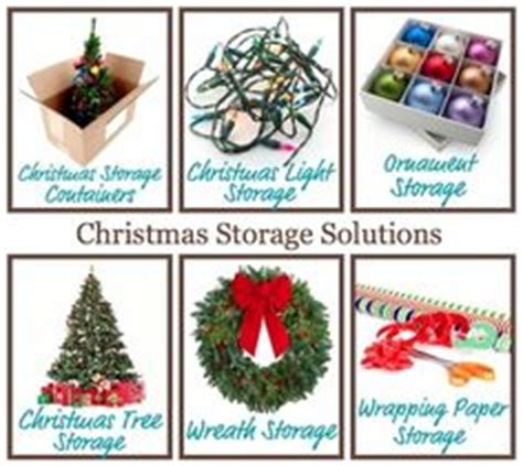 christmas storage solutions on pinterest storage boxes