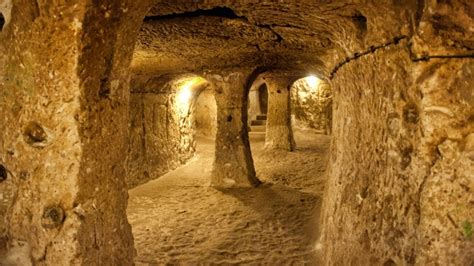 mysterious underground cities history lists