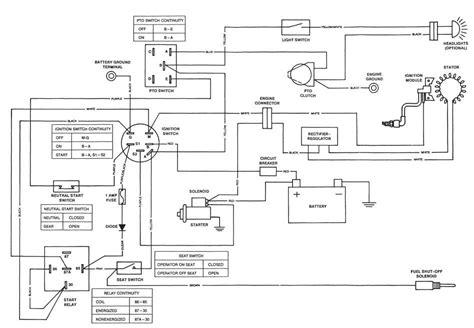stx38 wiring diagram deere stx 38 wiring diagram wiring diagram and fuse box diagram