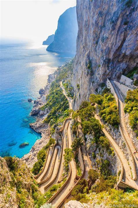 Via Krupp Capri Campania Italy Places To Travel