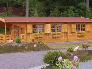 Chalet Bois Kit : chalet bois miki 53 maison bois greenlife ~ Carolinahurricanesstore.com Idées de Décoration