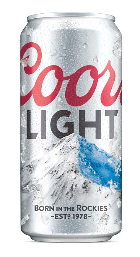 coors light carbs per can turner duckworth rebrands coors light design week
